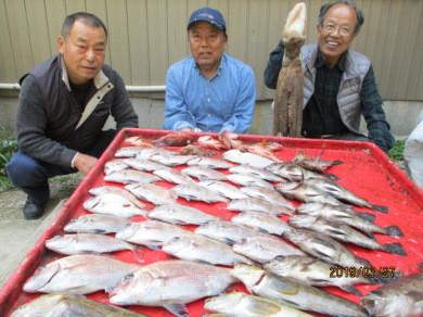 奥村釣船の2019年3月27日(水)1枚目の写真