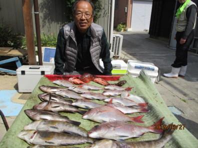 奥村釣船の2019年3月27日(水)2枚目の写真