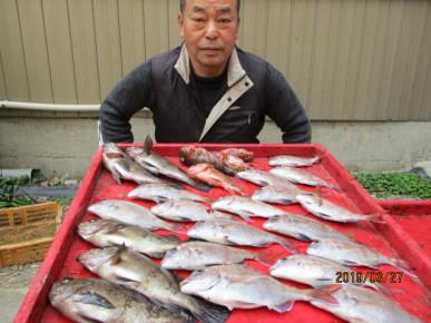 奥村釣船の2019年3月27日(水)4枚目の写真
