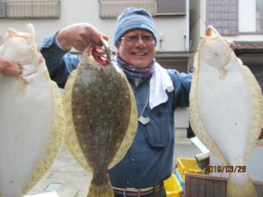奥村釣船の2019年3月28日(木)1枚目の写真