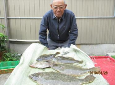 奥村釣船の2019年3月28日(木)3枚目の写真