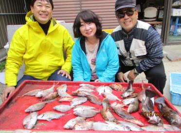 奥村釣船の2019年3月29日(金)1枚目の写真