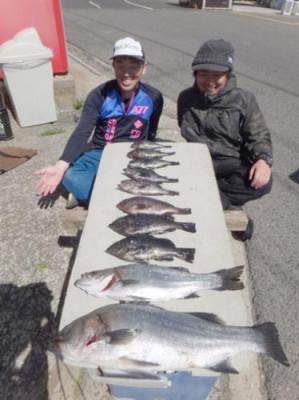 丸銀釣りセンターの2019年3月24日(日)3枚目の写真
