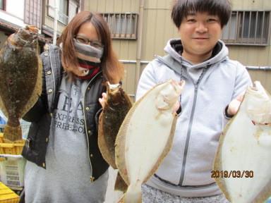 奥村釣船の2019年3月30日(土)1枚目の写真