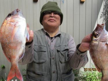 奥村釣船の2019年3月31日(日)1枚目の写真