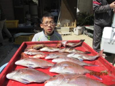 奥村釣船の2019年4月5日(金)1枚目の写真