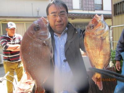 奥村釣船の2019年4月5日(金)2枚目の写真