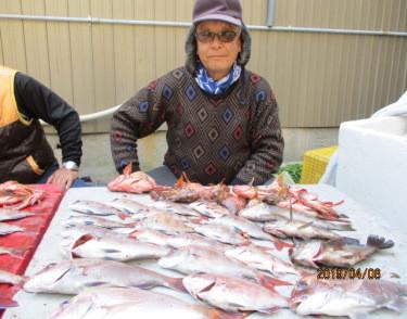 奥村釣船の2019年4月6日(土)1枚目の写真