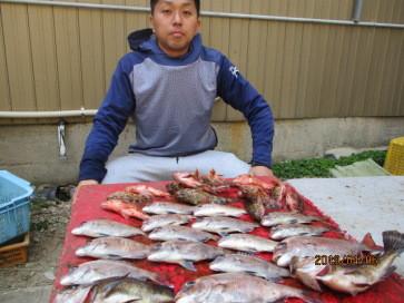 奥村釣船の2019年4月6日(土)2枚目の写真