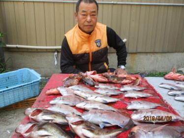 奥村釣船の2019年4月6日(土)3枚目の写真