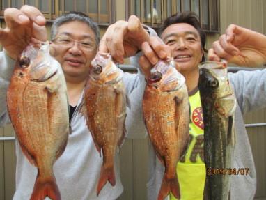 奥村釣船の2019年4月7日(日)1枚目の写真