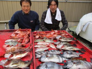 奥村釣船の2019年4月7日(日)4枚目の写真