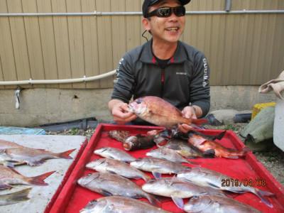 奥村釣船の2019年4月8日(月)1枚目の写真