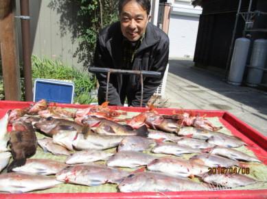 奥村釣船の2019年4月8日(月)2枚目の写真