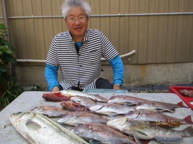 奥村釣船の2019年4月8日(月)3枚目の写真
