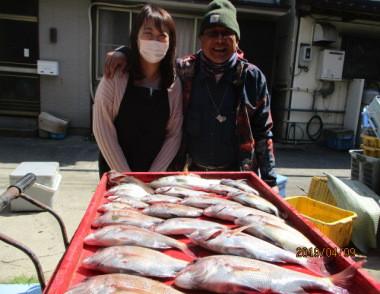 奥村釣船の2019年4月9日(火)4枚目の写真