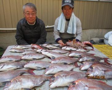 奥村釣船の2019年4月9日(火)5枚目の写真