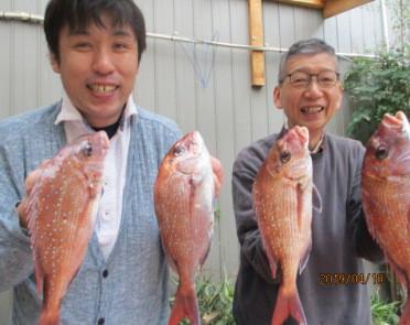 奥村釣船の2019年4月10日(水)1枚目の写真