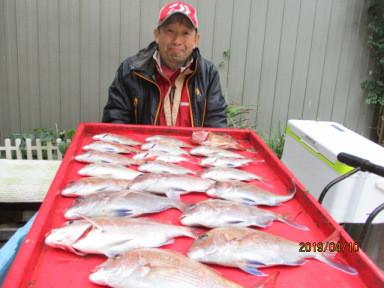 奥村釣船の2019年4月10日(水)2枚目の写真