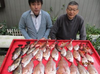 奥村釣船の2019年4月10日(水)3枚目の写真