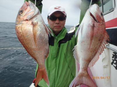 秀吉丸の2019年4月17日(水)1枚目の写真