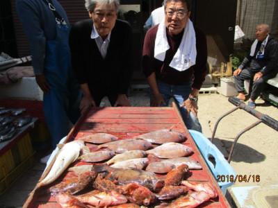 奥村釣船の2019年4月16日(火)1枚目の写真