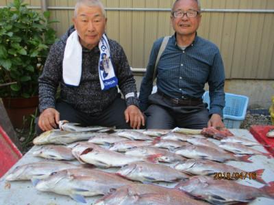 奥村釣船の2019年4月16日(火)2枚目の写真