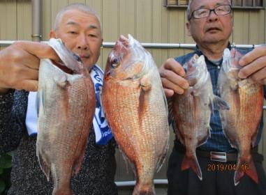 奥村釣船の2019年4月16日(火)4枚目の写真