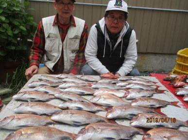奥村釣船の2019年4月18日(木)1枚目の写真