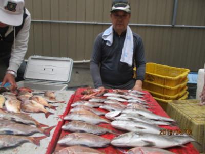 奥村釣船の2019年4月18日(木)2枚目の写真