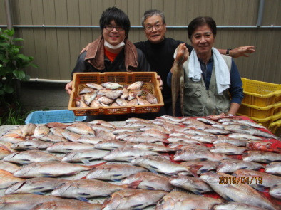 奥村釣船の2019年4月19日(金)1枚目の写真
