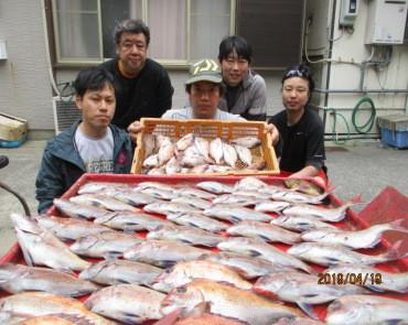 奥村釣船の2019年4月19日(金)2枚目の写真
