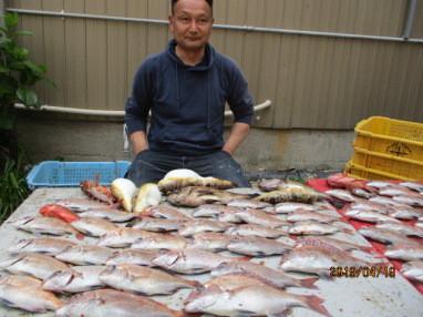 奥村釣船の2019年4月19日(金)4枚目の写真