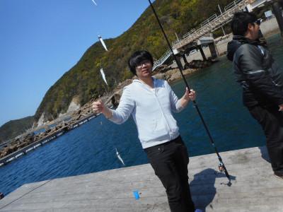 由良海つり公園&釣堀ランドの2019年4月20日(土)2枚目の写真
