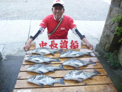 中長渡船の2019年4月26日(金)1枚目の写真