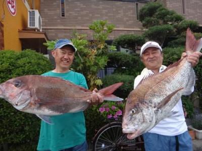 丸銀釣りセンターの2019年4月21日(日)1枚目の写真