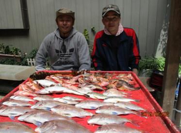 奥村釣船の2019年5月2日(木)1枚目の写真