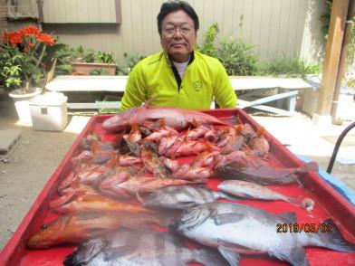 奥村釣船の2019年5月3日(金)3枚目の写真