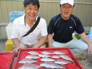 奥村釣船の2019年5月4日(土)2枚目の写真