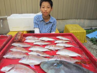 奥村釣船の2019年5月5日(日)1枚目の写真