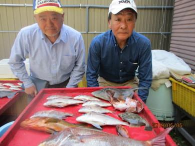 奥村釣船の2019年5月5日(日)3枚目の写真