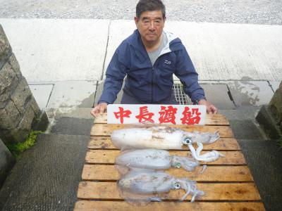 中長渡船の2019年5月18日(土)1枚目の写真