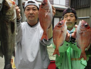 奥村釣船の2019年5月18日(土)2枚目の写真