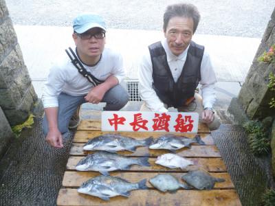 中長渡船の2019年5月22日(水)2枚目の写真