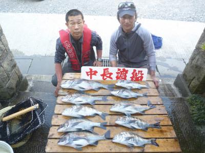 中長渡船の2019年5月23日(木)1枚目の写真