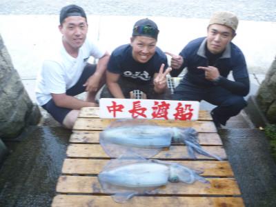 中長渡船の2019年5月24日(金)1枚目の写真