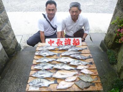 中長渡船の2019年5月27日(月)1枚目の写真