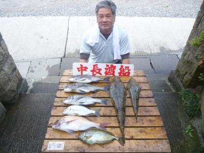 中長渡船の2019年5月30日(木)1枚目の写真