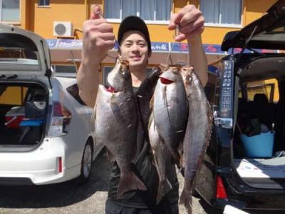 丸銀釣りセンターの2019年5月21日(火)3枚目の写真