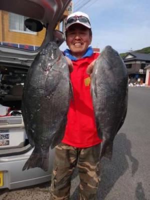 丸銀釣りセンターの2019年5月25日(土)1枚目の写真